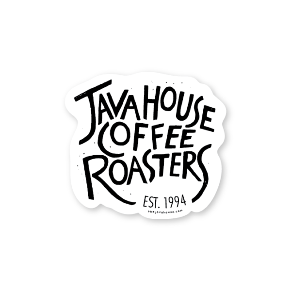 JavaHouse_Sticker_JavaHouseCoffeeRoasters