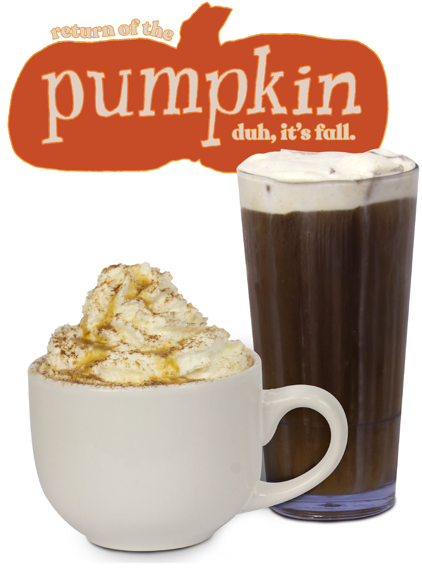 Return of the pumpkin. Duh, it's fall!